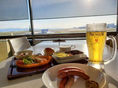 飛行機を見ながら機内食体験が出来る?! 関西国際空港の展望台「SKY VIEW」を楽しむべし!